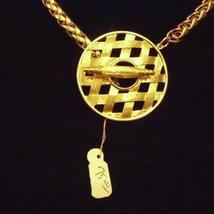 Pastelli Jewelry - Pastelli Signed High Quality Gold Tone Necklace